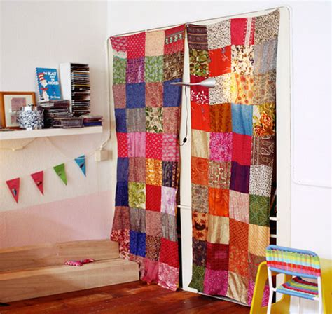 patchwork curtains flickr photo