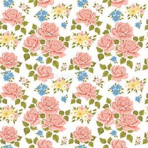 Papier Peint Fleuri : fond fleuri de papier peint illustration de vecteur ~ Premium-room.com Idées de Décoration