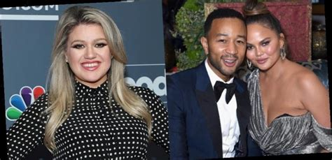 Kelly Clarkson Sent John Legend & Chrissy Teigen The ...