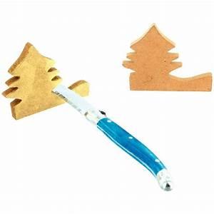 Couteau à Bois : porte couteau sapin en bois a decorer lot de 4 pw ~ Edinachiropracticcenter.com Idées de Décoration