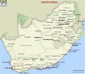 Kruger Park South Africa Map