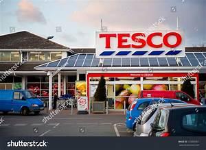 Droylsden Manchester Mar 26 Tesco Store Stock Photo ...