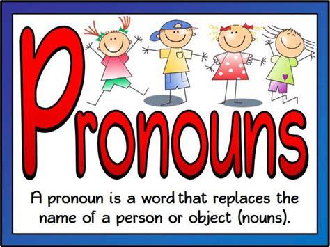 pronouns personal possessive pronouns objective