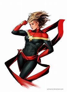 Captain Marvel by YamaOrce on DeviantArt