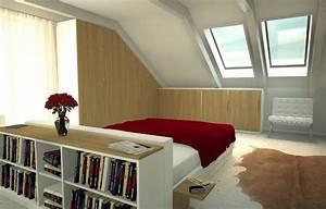 Zimmer Mit Dachschräge Gestalten : dachschr genschrank zimmer mit schr gen gestalten m bel ~ Lizthompson.info Haus und Dekorationen