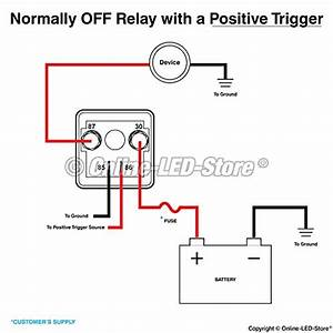 ols 12v dc 120 amp split charge relay switch 4 terminal With terminal of a relay