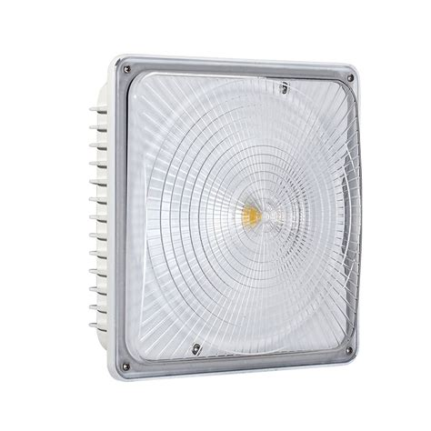 Led Canopy Light Fixtures by Led Garage Canopy Lights