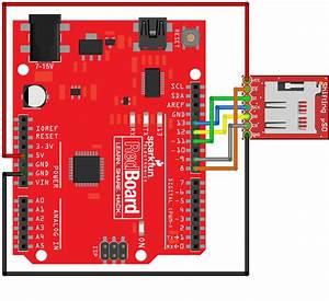 Microsd Breakout With Level Shifter Hookup Guide