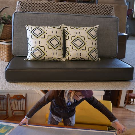 How To Reupholster Your Travel Trailer Cushions In Just