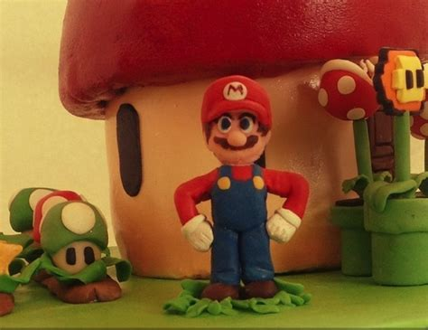 A Sweet Super Mario Bros Cake Global Geek News