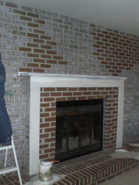 Brick Fireplace Makeover Paint Wwwimgkidcom The