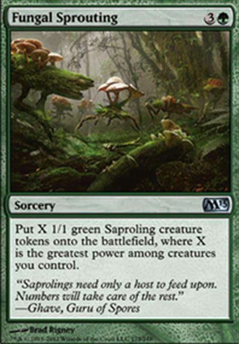 mono green sparoling tokens modern mtg deck