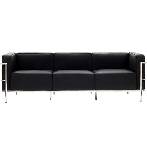 le corbusier style lc sofa leather