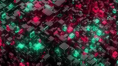 4k 3d Cubes Glowing Deviantart Wallpapers Cube