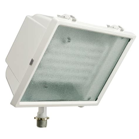Lithonia Lighting White Tripletube Outdoor Fluorescent