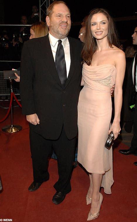 mogul weinstein marries british designer georgina