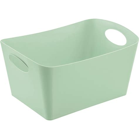 bo 238 te de rangement nomade en plastique vert d eau boxxx leroy merlin