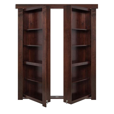 Door Bookcase by The Murphy Door 60 In X 80 In Flush Mount Assembled