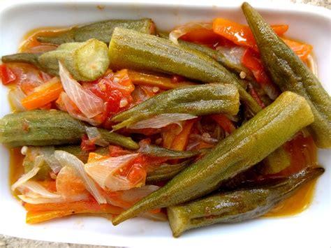 plat cuisiner recette de la salade aux gombos turquie la tendresse en cuisine