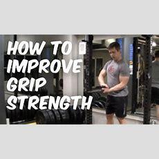 How To Improve Grip Strength  Nerd Fitness Youtube