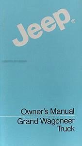 1984 Jeep Grand Wagoneer  U0026 J