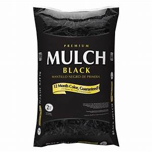 Shop Premium 2-cu ft Black Hardwood Mulch at Lowes com