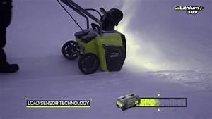 Batterie Ryobi 36v : ryobi 36v brushless snow thrower rst36b51 youtube ~ Farleysfitness.com Idées de Décoration