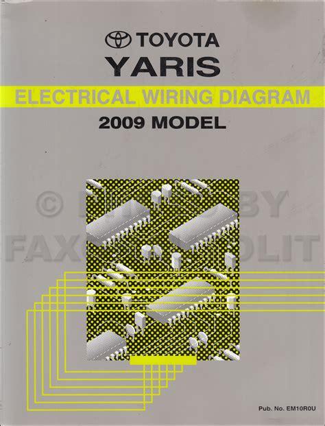 2007 toyota yaris wiring diagram 2007 free engine for user manual