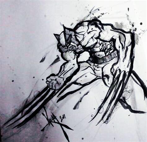 Wolverine Sketch By Madpenciler On Deviantart