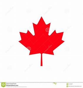 Canada maple leaf icon. stock vector. Illustration of ...