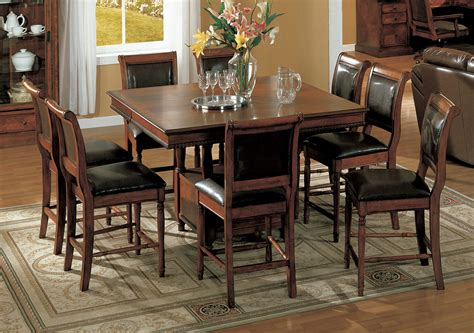 Looking Counter Height Dining Table And Chairs With Lazy