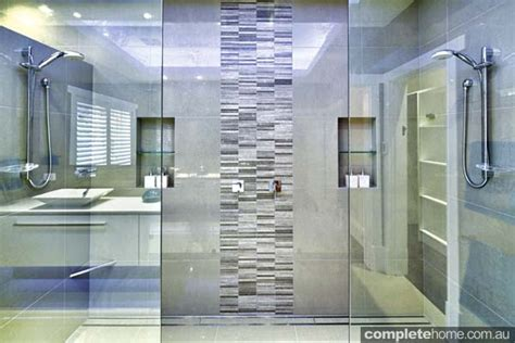 small bathroom designs 2013 sleek and symmetrical bathroom design completehome