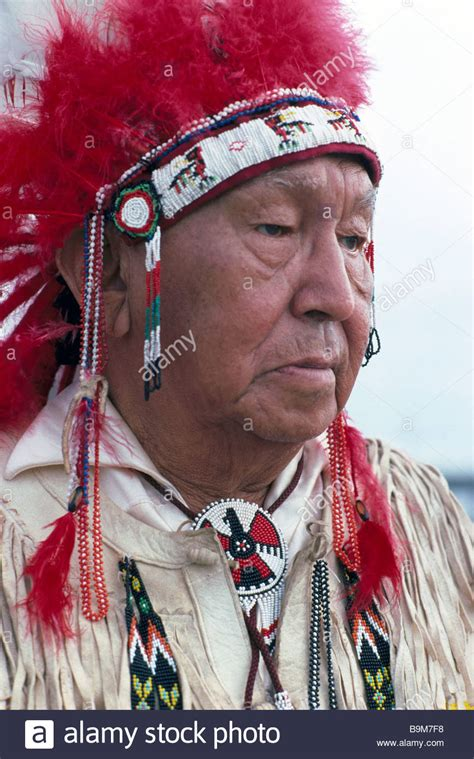 Indian Chief Image by Elderly American Indian Chief Wearing Traditional