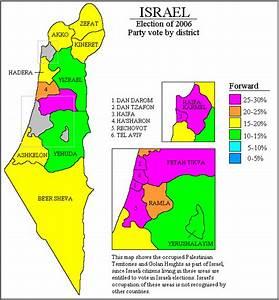 Israel. Legislative Election 2006 | Electoral Geography 2.0