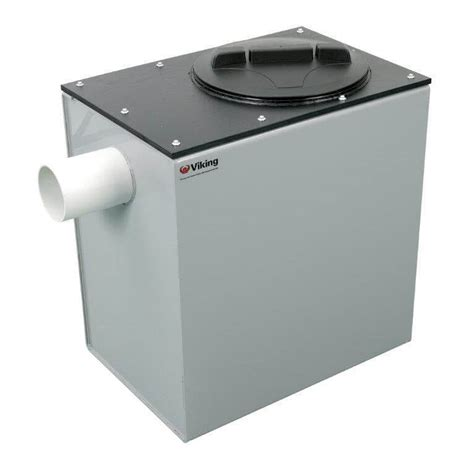kitchen grease trap design 350 litre grease trap above ground viking 4924