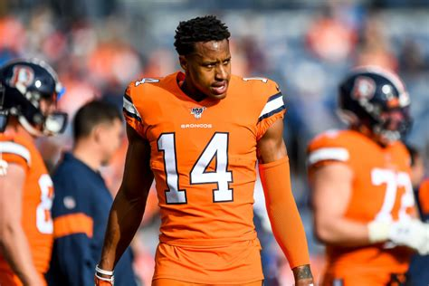 Broncos Star WR Courtland Sutton Exits Practice With A ...
