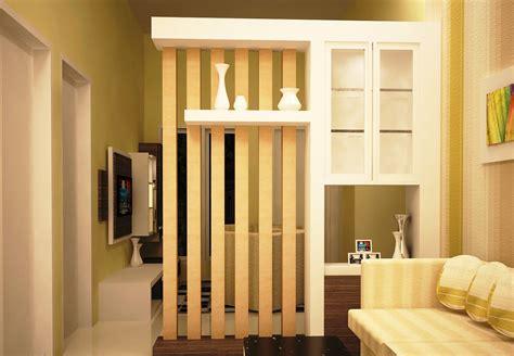 gambar desain penyekat ruang tamu dan ruang keluarga