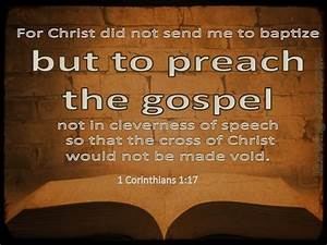 1 Corinthians 117 Verse Of The Day