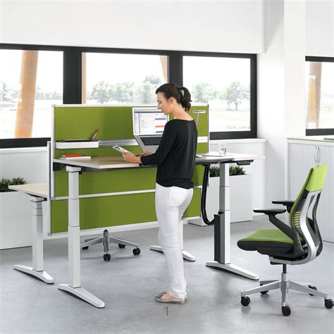adjustable height office desk the ology height adjustable desk is the first desk