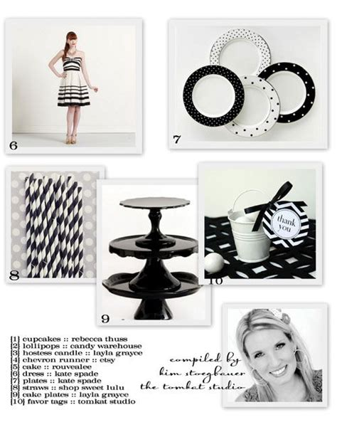 images  black  white party ideas