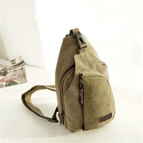 aotian canvas outdoor sling bag