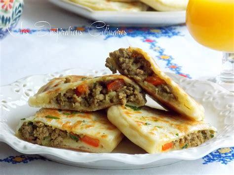 cuisine italienne recettes crêpes turques gözleme a la viande hachée le