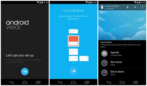 android wear app official android wear companion app hits play along