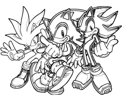 Sonic Coloring Pages Including Ones You Have To Finish