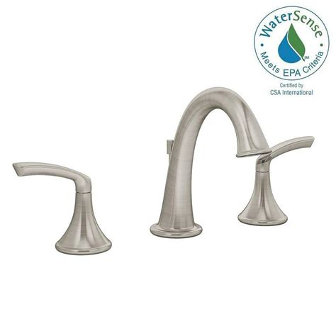 symmons faucets home depot symmons elm 8 in widespread 2 handle lavatory faucet in