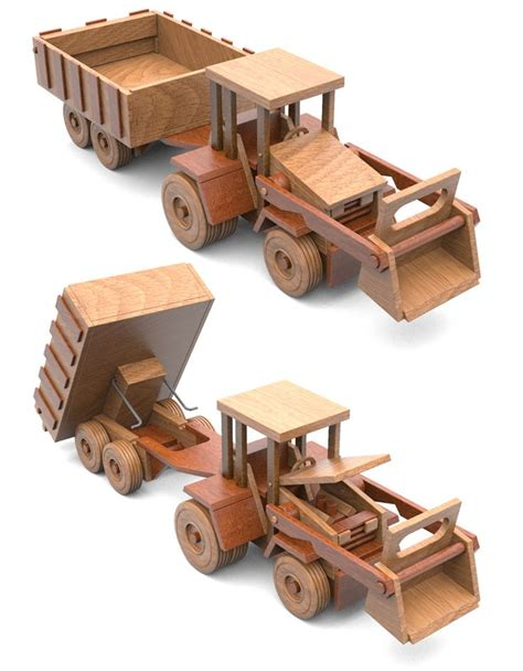 images  wooden semi truck  trailer  pinterest handmade toys woodworking