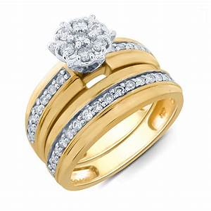 wedding bridal ring set kmartcom With kmart wedding ring sets