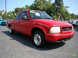 1998 Apple Red Gmc Sonoma Sls Extended Cab  17894574