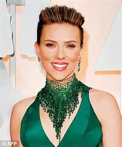 Are YOU out for an undercut? Scarlett's looks trim, Cara's