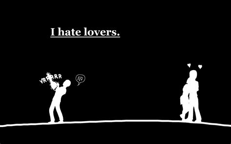 hate lovers hd wallpaper background image